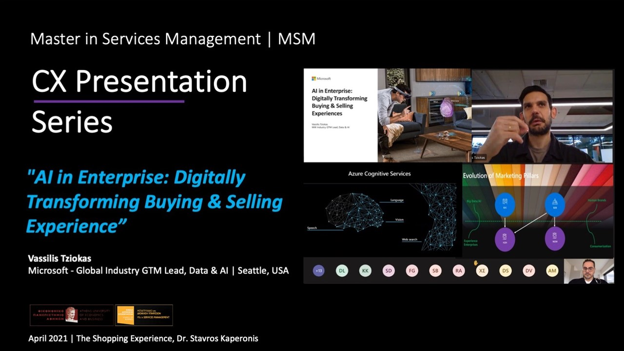 «AI in Enterprise: Digitally Transforming Buying & Selling Experience»