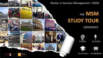 Ας αναπολήσουμε τα μοναδικά MSM Study Tours