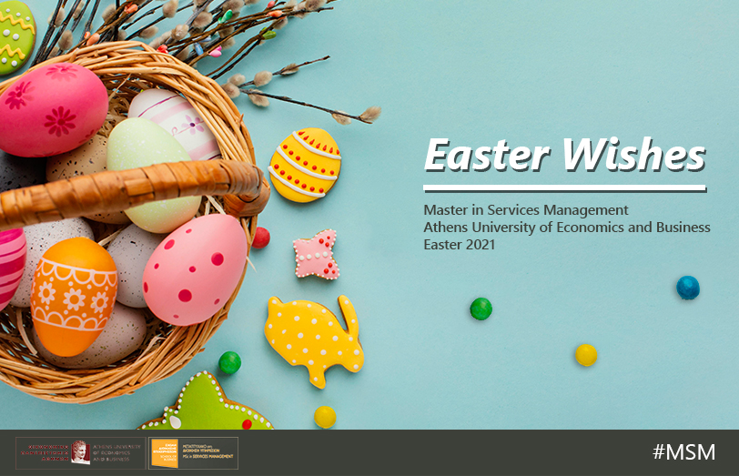 Easter Wishes from all of us at the MSM
